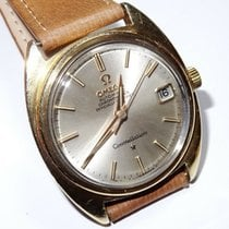 Omega Constellation pre-owned 40mm White Date Leather
