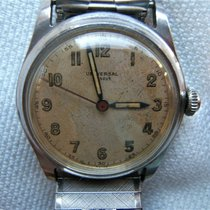 Universal Genève Steel 31mm Manual winding pre-owned United States of America, New Jersey, Upper Saddle River