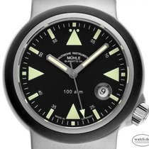 Mühle Glashütte S.A.R. Rescue-Timer nuevo Automático Reloj con estuche y documentos originales M1-41-03-KB