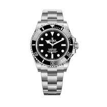 Rolex Submariner (No Date) nuevo Automático Reloj con estuche y documentos originales 124060