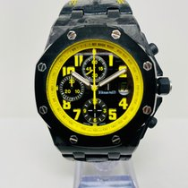 Audemars Piguet Royal Oak Offshore Chronograph 26176FO.OO.D101CR.02 Meget god Karbon 42mm Automatisk