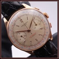 Chronographe Suisse Cie Yellow gold 37mm Manual winding pre-owned