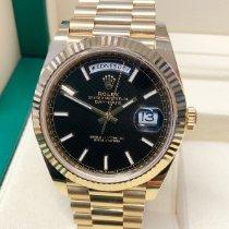 Rolex Day-Date 40 nuevo 2020 Automático Reloj con estuche y documentos originales 228238