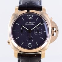 Panerai Rose gold Manual winding Brown Arabic numerals 44mm pre-owned Special Editions