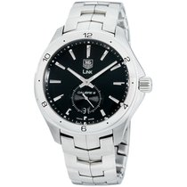 TAG Heuer Link Calibre 6 Steel 40mm Black Arabic numerals United States of America, New Jersey, Somerset