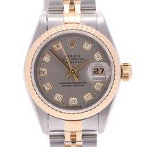 Rolex Lady-Datejust Oro amarillo 25mm Gris