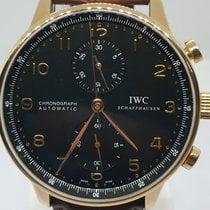 IWC Portuguese Chronograph Rose gold 41mm Black Arabic numerals UAE, Sharjah