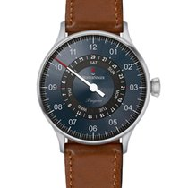 Meistersinger Pangaea Day Date Steel 40mm