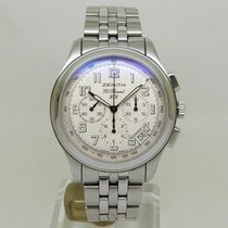 Zenith Steel Manual winding Silver 40mm pre-owned El Primero