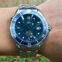 Omega 25378000 Steel 2003 Seamaster Diver 300 M 41mm pre-owned United States of America, Texas, Houston
