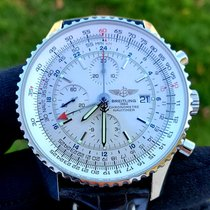 Breitling Navitimer World Steel 46mm White No numerals United States of America, Michigan, Macomb