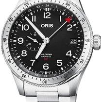 Oris Big Crown ProPilot GMT Steel 44mm Black Arabic numerals