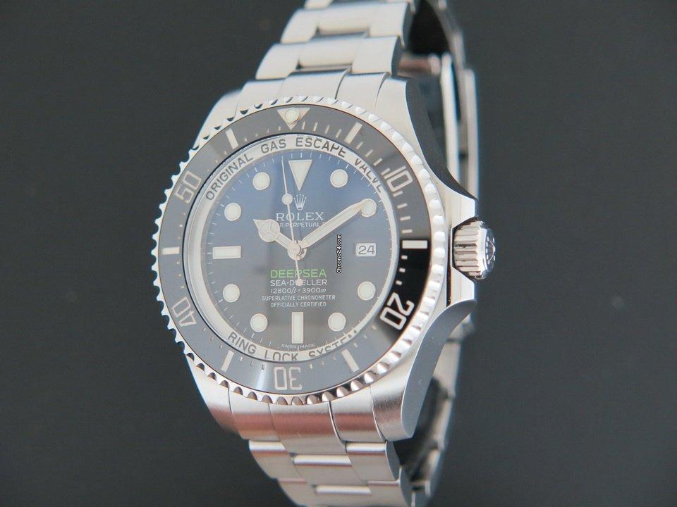 Rolex Sea-Dweller Deepsea 116660 2015 подержанные