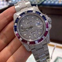 Rolex GMT-Master II Steel 40mm No numerals UAE, Dubai