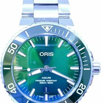 Oris 01 733 7730 4157-07 8 24 05PEB Steel Aquis Date 43.5mm United States of America, Florida