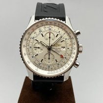 Breitling A24322 Steel 2006 Navitimer World 46mm pre-owned