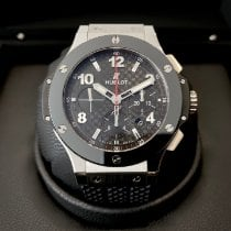 Hublot Big Bang 44 mm Stål 44mm Svart Arabiska