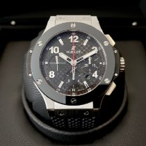 Hublot Big Bang 44 mm Acél 44mm Fekete Arab