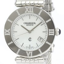 Charriol St-Tropez Steel 36mm White
