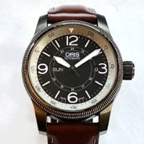 Oris Big Crown Timer Acier 44mm Noir Arabes