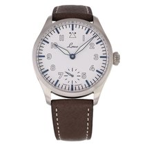 Laco Steel 42.5mm Manual winding pre-owned United States of America, Texas, Plano