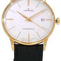Junghans Stål Hvid 38.4mm ny Meister Chronometer
