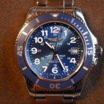 Breitling Superocean II 42 Stahl 42mm Blau Arabisch Deutschland, Lohmar