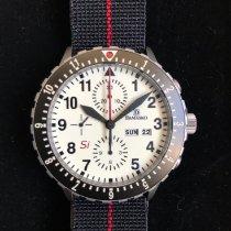 Damasko Staal 42mm Chronograaf tweedehands