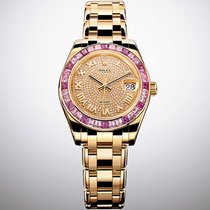 Rolex Pearlmaster new 2019 Automatic Watch only 81348SARO