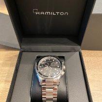 Hamilton Jazzmaster Seaview Steel 44mm Black No numerals