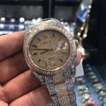 Rolex Datejust II Gold/Steel 41mm Black Roman numerals UAE, Dubai