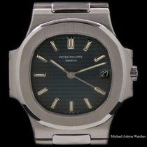 Patek Philippe Nautilus Steel 37mm Blue No numerals United States of America, New York, New York