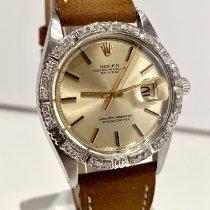 Rolex Datejust Turn-O-Graph Stahl 36mm Gold Keine Ziffern