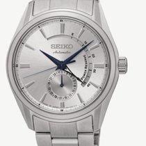 Seiko Presage Steel Silver