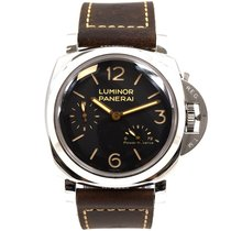 Panerai Luminor 1950 3 Days Power Reserve PAM 00423 Sehr gut Stahl 47mm Handaufzug