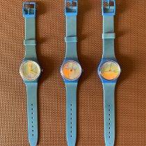 Swatch Quartz Blue 36mm pre-owned