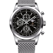 Breitling Transocean Chronograph 1461 Staal 43mm