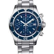 Breitling Superocean new 2021 Automatic Chronograph Watch with original box and original papers A13311D11C1A1