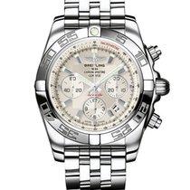 Breitling Chronomat 44 nuevo 2020 Automático Cronógrafo Reloj con estuche y documentos originales AB011012/G684/375A