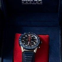 TAG Heuer Carrera Calibre HEUER 01 Staal 45mm Blauw Nederland, Houten