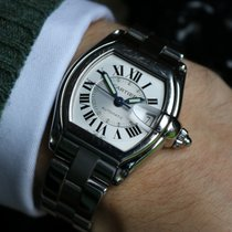 Cartier Roadster Steel 37mm Black United Kingdom, Wetherby
