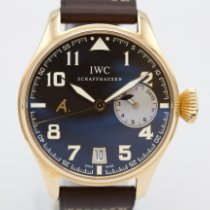 IWC Big Pilot Oro rosa 46mm Marrón Arábigos
