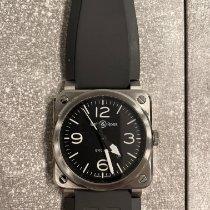 Bell & Ross BR 03 Steel 42mm Black Arabic numerals