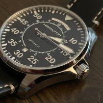 Hamilton Khaki Pilot Day Date Steel 42mm Black Arabic numerals United States of America, New York, Massapequa