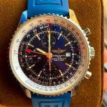 Breitling A24322 Steel Navitimer World 46mm pre-owned United States of America, Illinois, Chicago