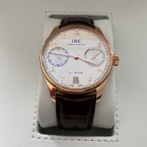 IWC Red gold Automatic Silver Arabic numerals 42.3 mmmm new Portuguese Automatic