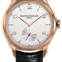 Baume & Mercier Clifton Rose gold 42mm Silver Arabic numerals United States of America, California, Moorpark