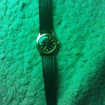 Rolex Oyster Precision Stal Czarny Arabskie