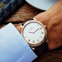 Blancpain Villeret Ultra-Plate Or rouge 36mm Champagne Romains France, Paris