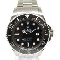 Rolex Acero Automático Negro Sin cifras 44mm usados Sea-Dweller Deepsea